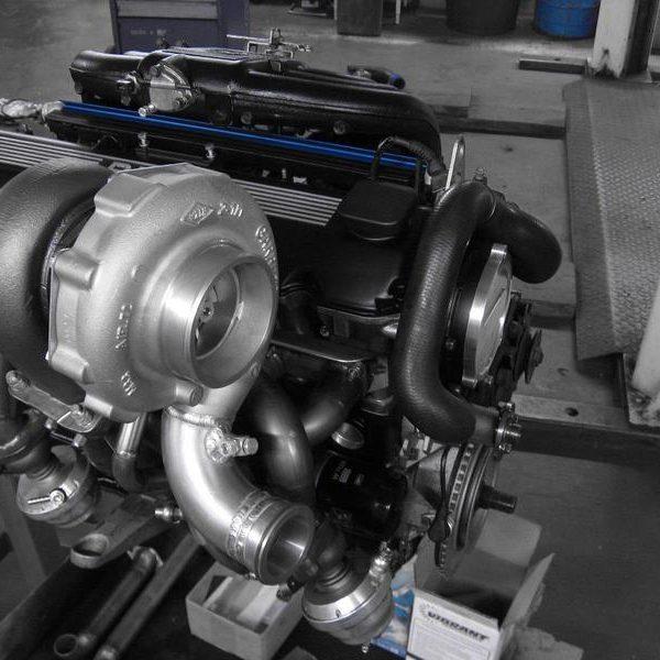 GP-Power Motorenumbau
